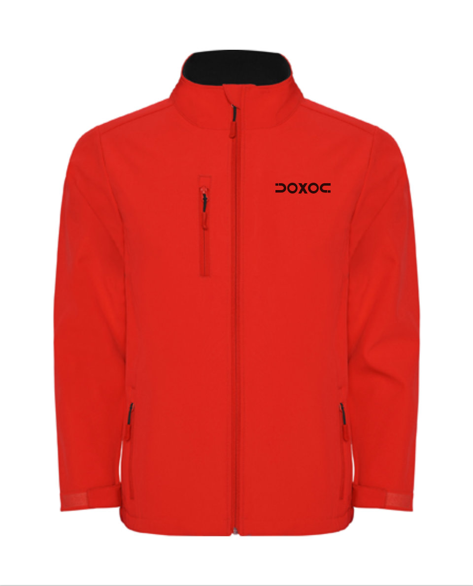 Chaqueta Hombre Doxoc Cross Rojo. Chaqueta Doxoc Cross Soft-Shell ...