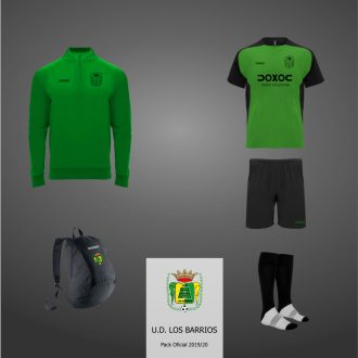 Pack entrenamiento UD Los Barrios