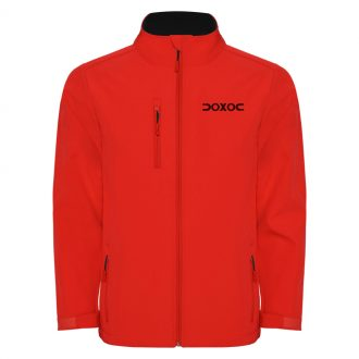Chaqueta deportiva Doxoc Cross Rojo